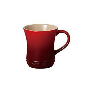 曲線が手になじむ、やさしい形のマグカップです。 1250度の高温で焼き上げられるため、気孔含有率が極...