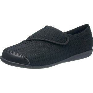 アサヒシューズ:快歩主義 L131RS ブラック SS KS23461 介護 靴 シューズ 介護用品 リハビリ ウォーキング ケアの商品画像 ナビ