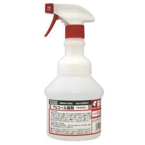 アルコール製剤専用のスプレーボトルです。 広口タイプです。  ●この商品はメーカー取寄せ品です ●こ...
