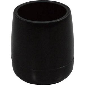 光 イス脚キャップ パイプ用 黒丸24(1個) BE8242 3654559