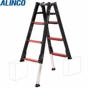 (代引不可)アルインコ:上部操作型伸縮脚付はしご兼用脚立 GUD120 工事現場 工場