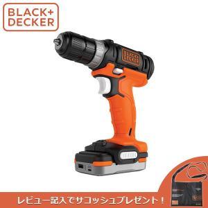 (あすつく)BLACK+DECKER(ブラックアンドデッカー):GoPak ドリルドライバー 充電池...