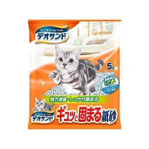 ユニ・チャーム:デオサンド ギュッと固まる紙砂...の関連商品5