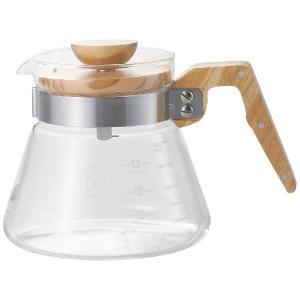 HARIO:コーヒーサーバー600 オリーブウッド VCWN-60-OV|イチネンネット PayPayモール店