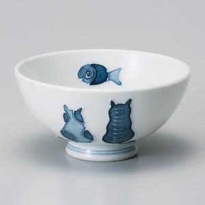 和食器 猫 ねこ ネコ キャット ご飯茶碗 飯碗 茶碗 おうち うつわ 陶器 日本製 らいすぼーる ...