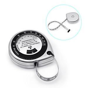 YLSHOPP メジャー BMI指数 ウエスト メジャー 裁縫 巻き尺 周囲測定 テープメジャー 測...