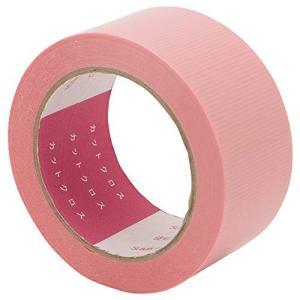 住宅建材用防水気密テープ スーパーポリクロス 住宅建材用防水気密テープ (カットクロスHB ピンク, 50mm×20M) 販売元:住化プラステック
