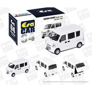 Era Car 1/64 ERA#04 スズキエブリィ 白 04 Suzuki Every White Van
