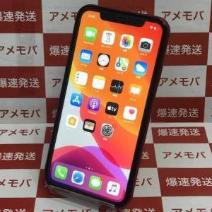 iPhone11 128GB Softbank版SIMフリー レッド バッテリー100% 中古