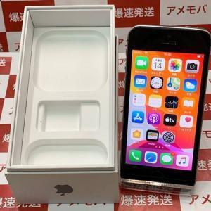 限定特価 iPhone SE 128GB SoftBank版SIMフリー スペースグレイ 中古