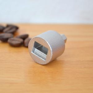 ドリルドライバー用 コーヒーミルアダプター 長方形穴 CMAD-R1