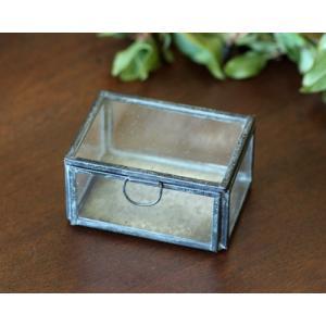 (クリックポスト・小型宅配便不可) ディスプレイ什器:メタルフレーム ガラスケース(小)|coeur