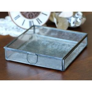 (クリックポスト・小型宅配便不可) ディスプレイ什器:メタルフレームフラットガラスケース|coeur