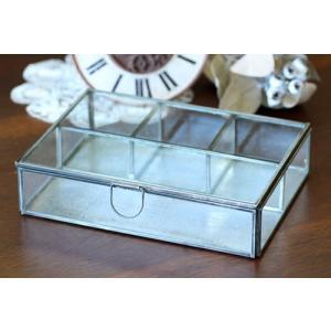 (クリックポスト・小型宅配便不可) ディスプレイ什器:メタルフレームフラットガラスケースセパレート|coeur