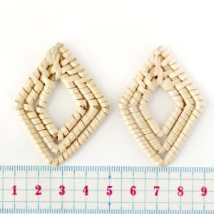 ナチュラルパーツ ダイヤ 51〜53×36〜40mm ナチュラル 1個|coeur|02