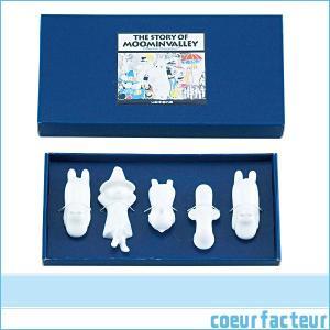 ムーミン 箸置き おしゃれ 5個組 ギフト 贈り物 人気キャラクター5点セット|coeurfacteur