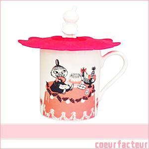 誕生日プレゼント 女性 雑貨 マグカップ リトルミイ シリコンカップカバー付|coeurfacteur