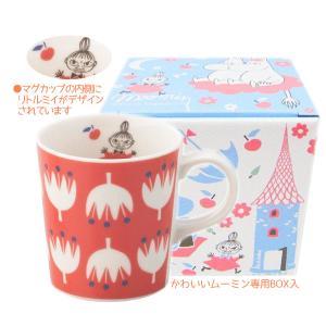 マグカップ かわいい ミイ レッド フェイスマグ ムーミングッズ|coeurfacteur