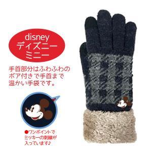 手袋 ディズニー ミッキー スマホ対応 レディース 誕生日プレゼント 女性|coeurfacteur