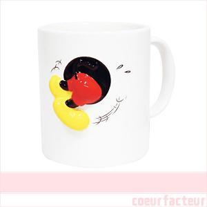 マグカップ ミッキーマウス かわいい ハプニングマグ ディズニーグッズ|coeurfacteur