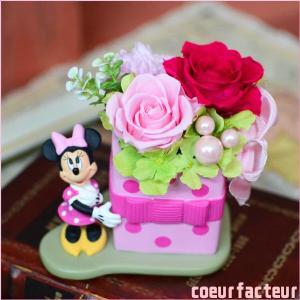 母の日 誕生日プレゼント プリザーブドフラワー ディズニー ...