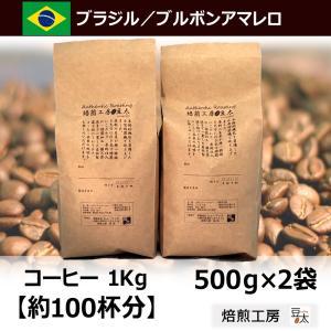 コーヒー豆 1kg ボンジャルディン農園 ブラジルアマレロブルボン 単一農園の画像