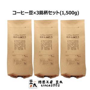 コーヒー豆セット 1500g 高品質 プレミアムグレード...
