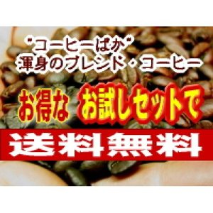 コーヒー福袋  お試しセット:ブラジルブレンド(150g)、オリジナルブレンドNo2(100g)(メール便)コーヒー豆|coffeebaka