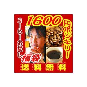 コーヒー 福袋 送料無料 お試し 1400円ポッキリ  極旨コーヒー:ホンジュラス150g.マンデリン150gの計300g(30杯〜45杯)