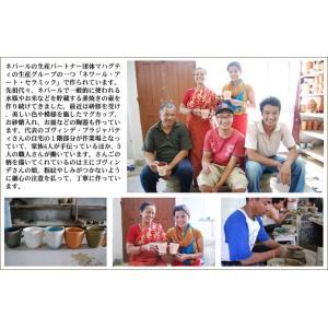 ネパールの手作りマグ (さんご) 【フェアトレード】|coffeemeetsbagels|03