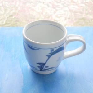 砥部焼 マグカップ つゆ草 (S) coffeemeetsbagels
