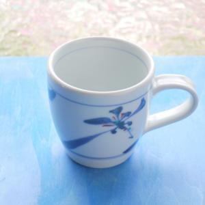 砥部焼 マグカップ 花草 (S) coffeemeetsbagels