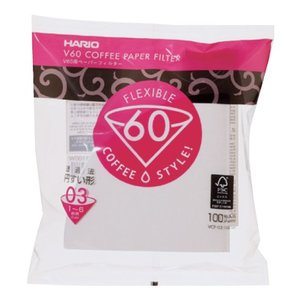 V60ペーパーフィルター03 W 100枚|coffeemeetsbagels