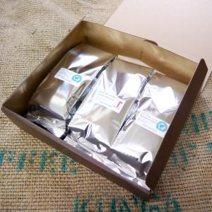 コーヒーギフトセット (オリジナルブレンド3種類 各200g)|coffeemeetsbagels
