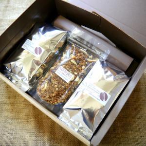 ギフトセット (コーヒー豆&コーヒーグラノーラ) coffeemeetsbagels