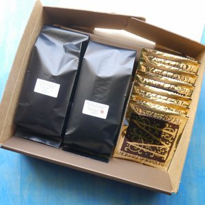 「洋菓子とコーヒー」 ギフトセット (チュイルアマンド) coffeemeetsbagels