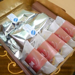 コーヒー豆&和菓子(栗どら) ギフトセット|coffeemeetsbagels
