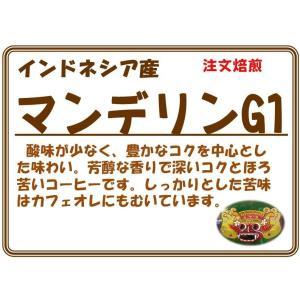マンデリン G1 200g|coffeesaikoubou