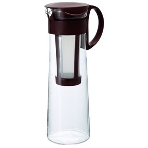 ハリオ hario 水出し コーヒーポット 1000ml MCPN-14CBR ショコラブラウン | ストレーナー付き 8杯専用|coffeeyabu