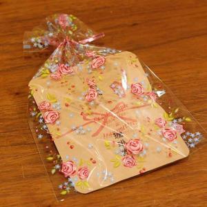 プチギフト ラッピング 花柄|coffeeyabu