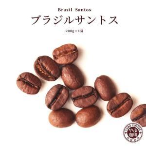 コーヒー豆 ブラジルサントス 200g|coffeeyabu