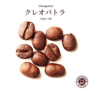 コーヒー豆 クレオパトラ 200g x 1袋 | コロンビア コーヒー 珈琲 やぶ珈琲 自家焙煎 こだわり 生豆 粉 贅沢 本格 挽き立て|coffeeyabu