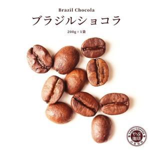 コーヒー豆 ブラジル ショコラ 200g x 1袋 | コーヒー 珈琲 やぶ珈琲 自家焙煎 こだわり 生豆 粉 贅沢 本格 挽き立て|coffeeyabu