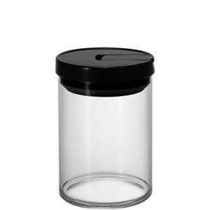 珈琲キャニスター 200g ハリオ 密封容器 耐熱ガラス MCN-200B 保存ビン|coffeeyabu