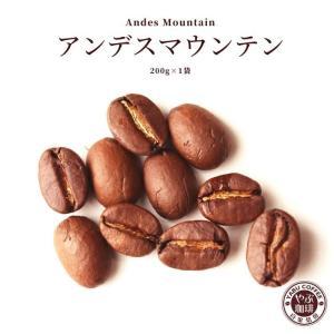アンデスマウンテン エクアドル コーヒー 200g × 1袋 | コーヒー豆 珈琲 自家焙煎 こだわり 生豆 粉 マイルド 焙煎 挽き立て 本格  専門店 おためし|coffeeyabu