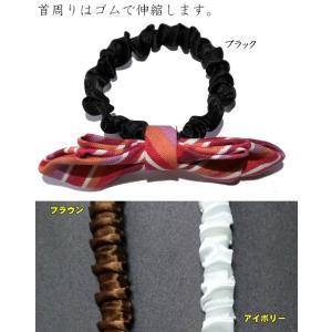 犬 アクセサリー 首輪 シュシュ 犬服にもうワンポイント|coharu|02