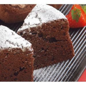 スイートチョコレート・バター・生クリームでしっとり焼き上げた上品で濃厚なチョコレートケーキです。  ...