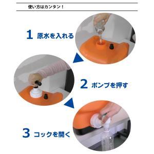 非常用 ポリタンク型浄水器「コッくん飲めるゾウミニ」|cokkun|04