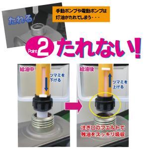 灯油ポリタンク専用コック「コッくんトーユ」 スタンドセット18リットル用|cokkun|02