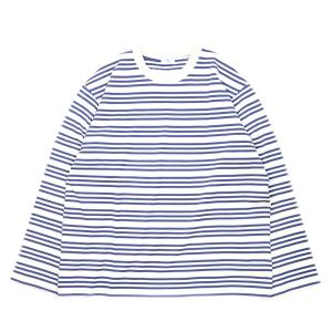 URU(ウル) クルーネックロングスリーブボーダーTシャツ メンズ リラックスシルエット 21SUC01|coldbeck